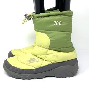The North Face Puffer Boots